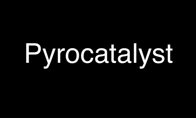 Pyrocatalyst Steven Shomler